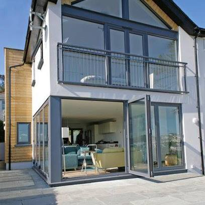 A property constructed by Jenkinson Potts Construction in North Devon.